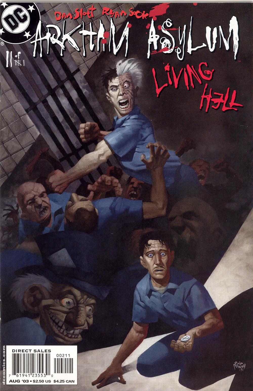 Arkham Asylum: Living Hell 2 Page 1