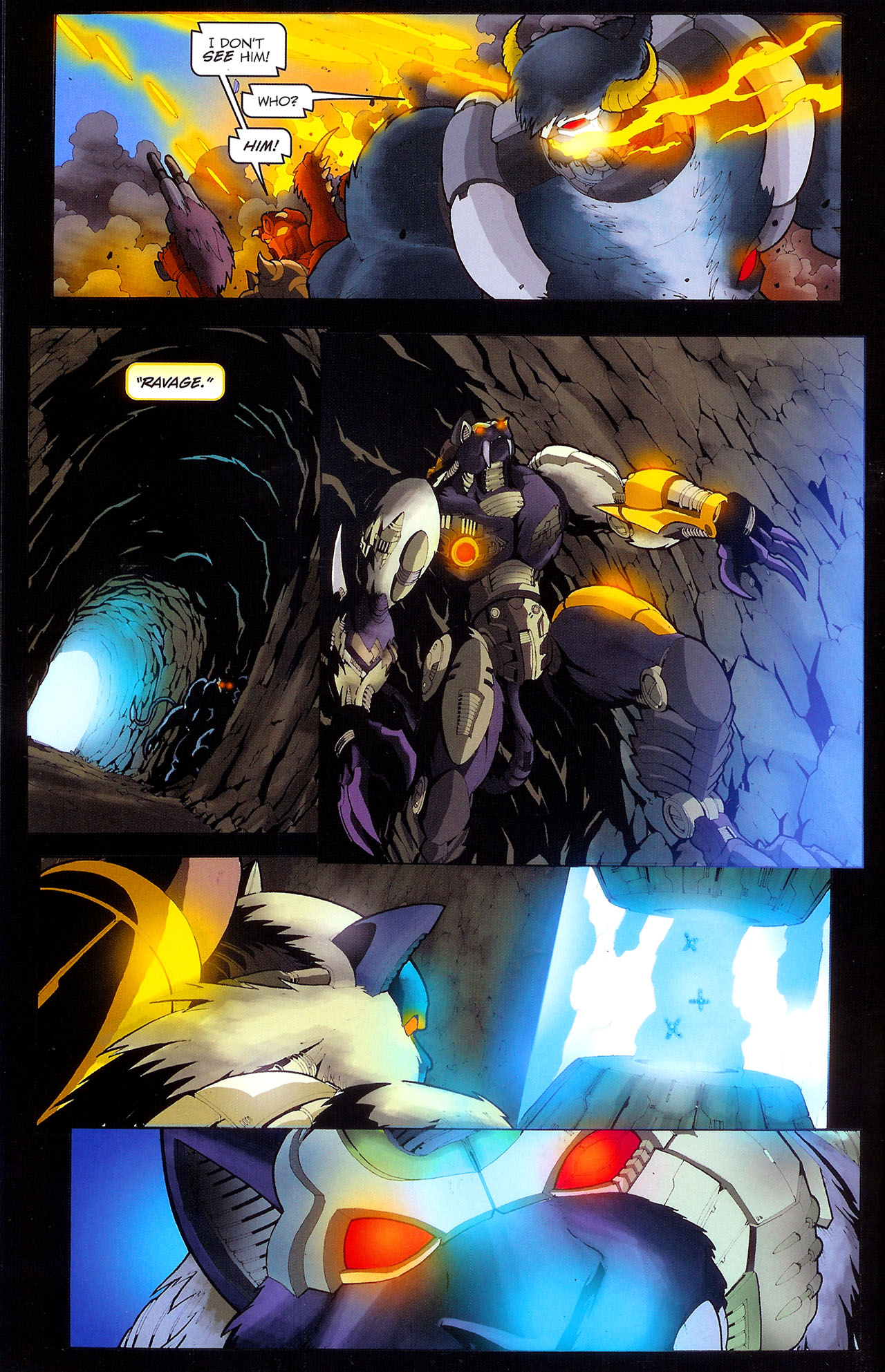 Read online Transformers: Beast Wars: The Ascending comic -  Issue #1 - 14