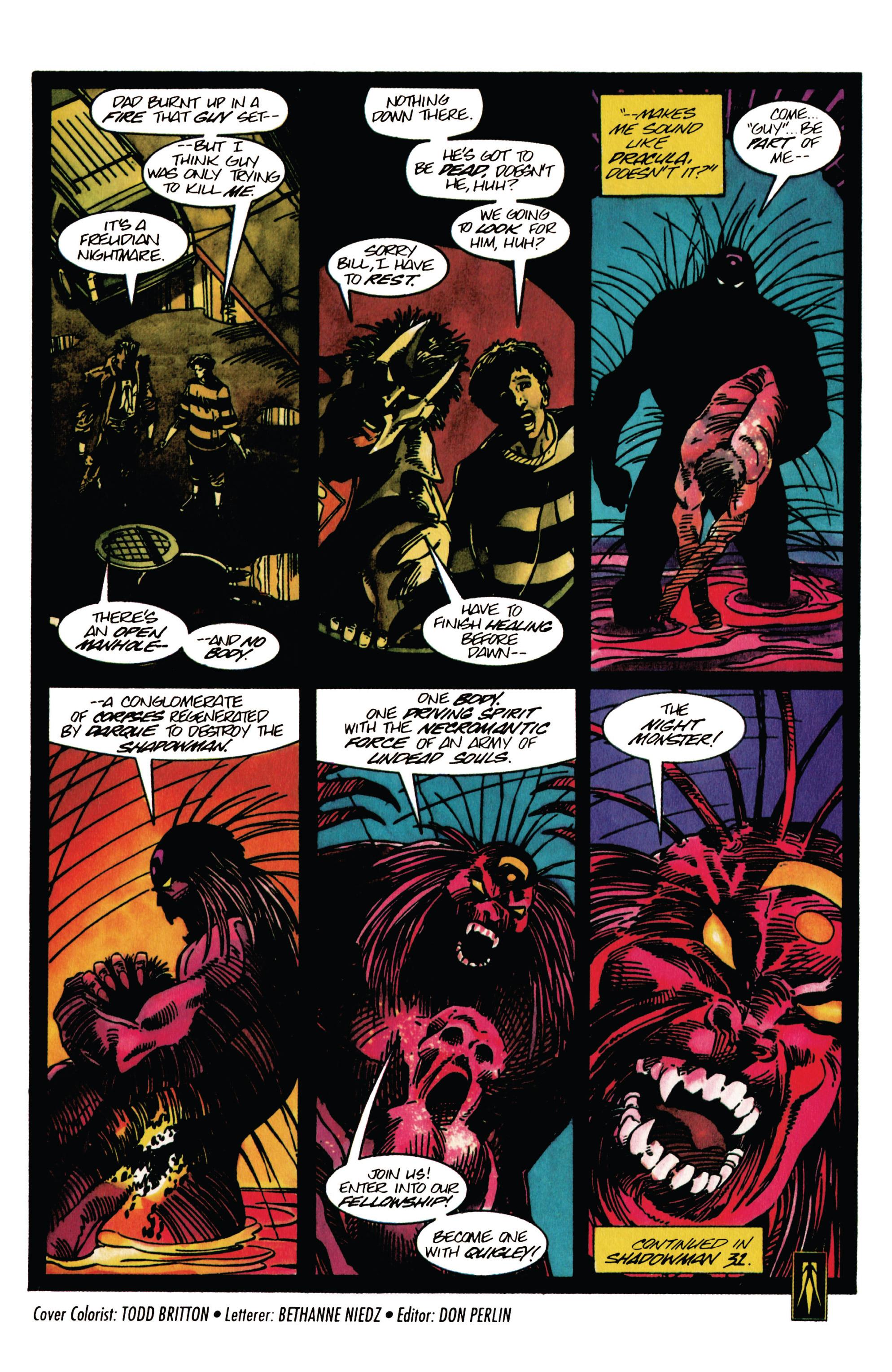 Read online Shadowman (1992) comic -  Issue #30 - 22