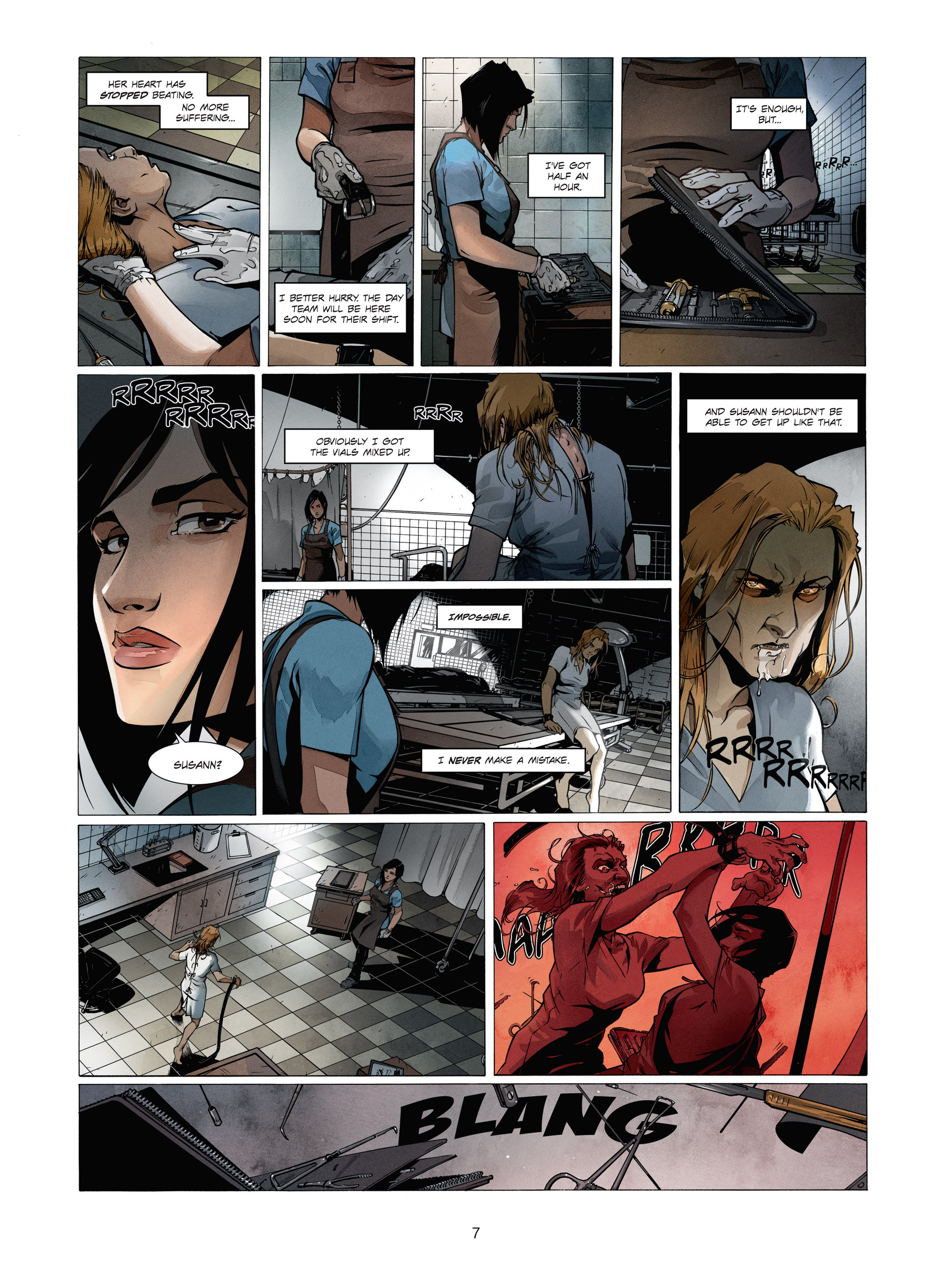 Read online Alice Matheson comic -  Issue #1 - 7