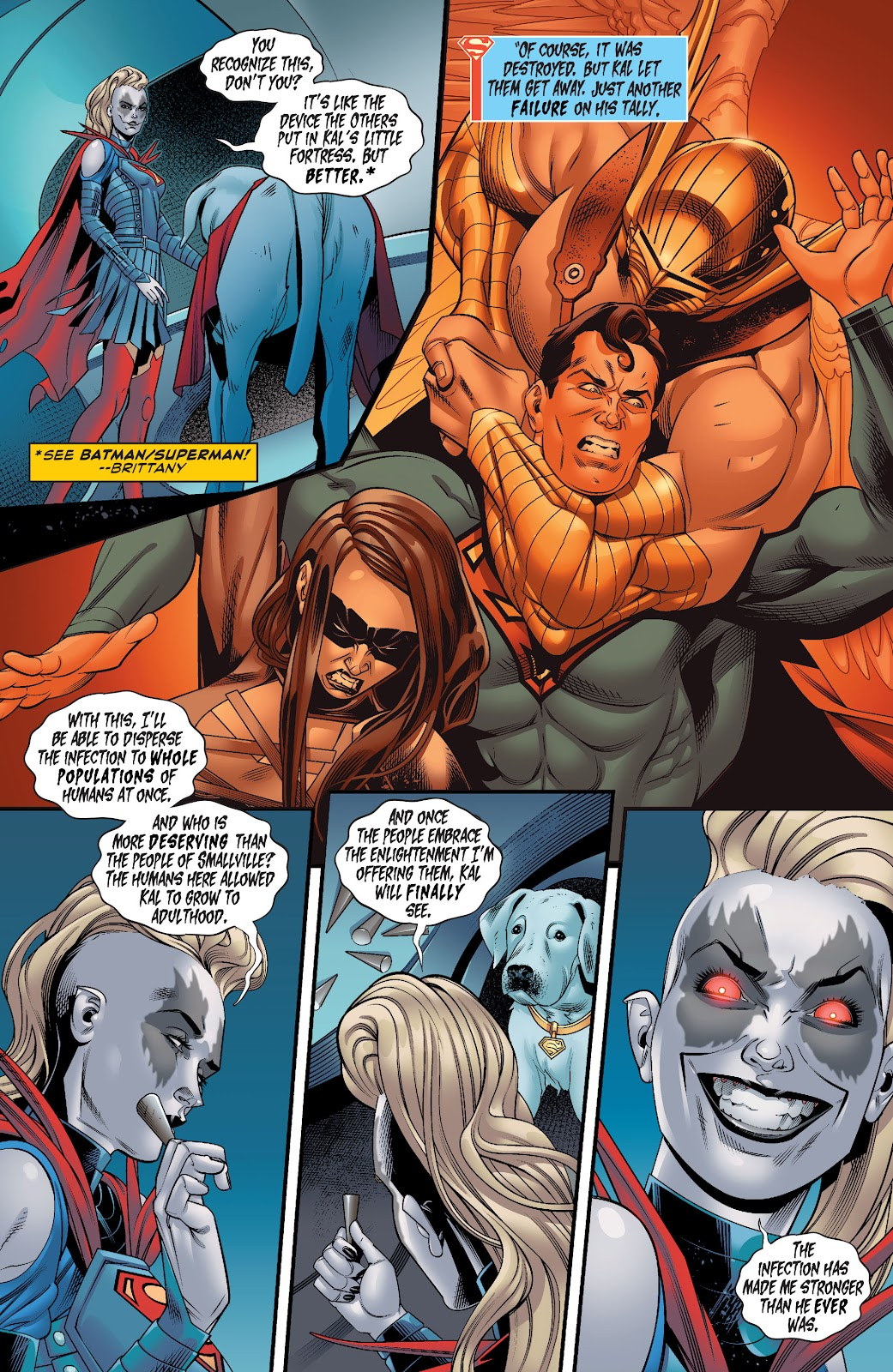 Read online Supergirl (2016) comic -  Issue #38 - 7