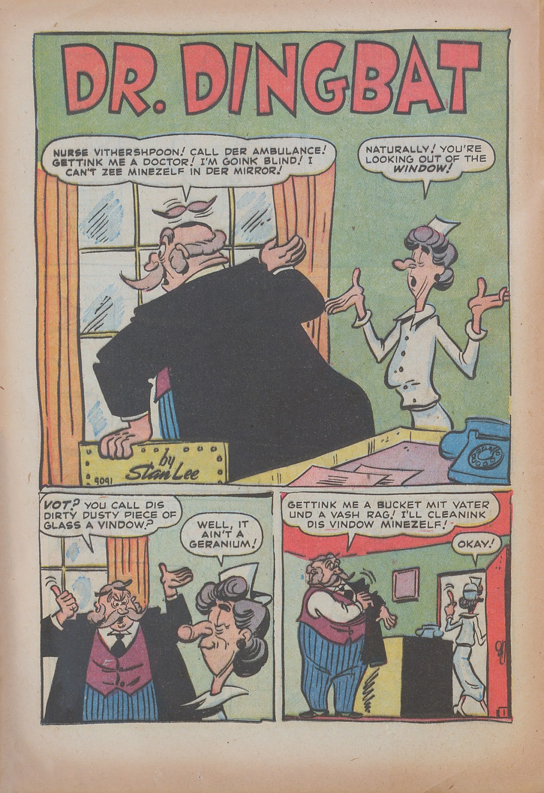 Read online Nellie The Nurse (1945) comic -  Issue #31 - 20