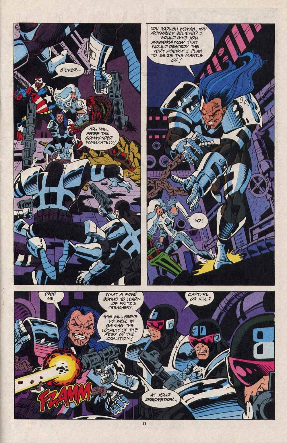 Read online Silver Sable and the Wild Pack comic -  Issue #25 - 9