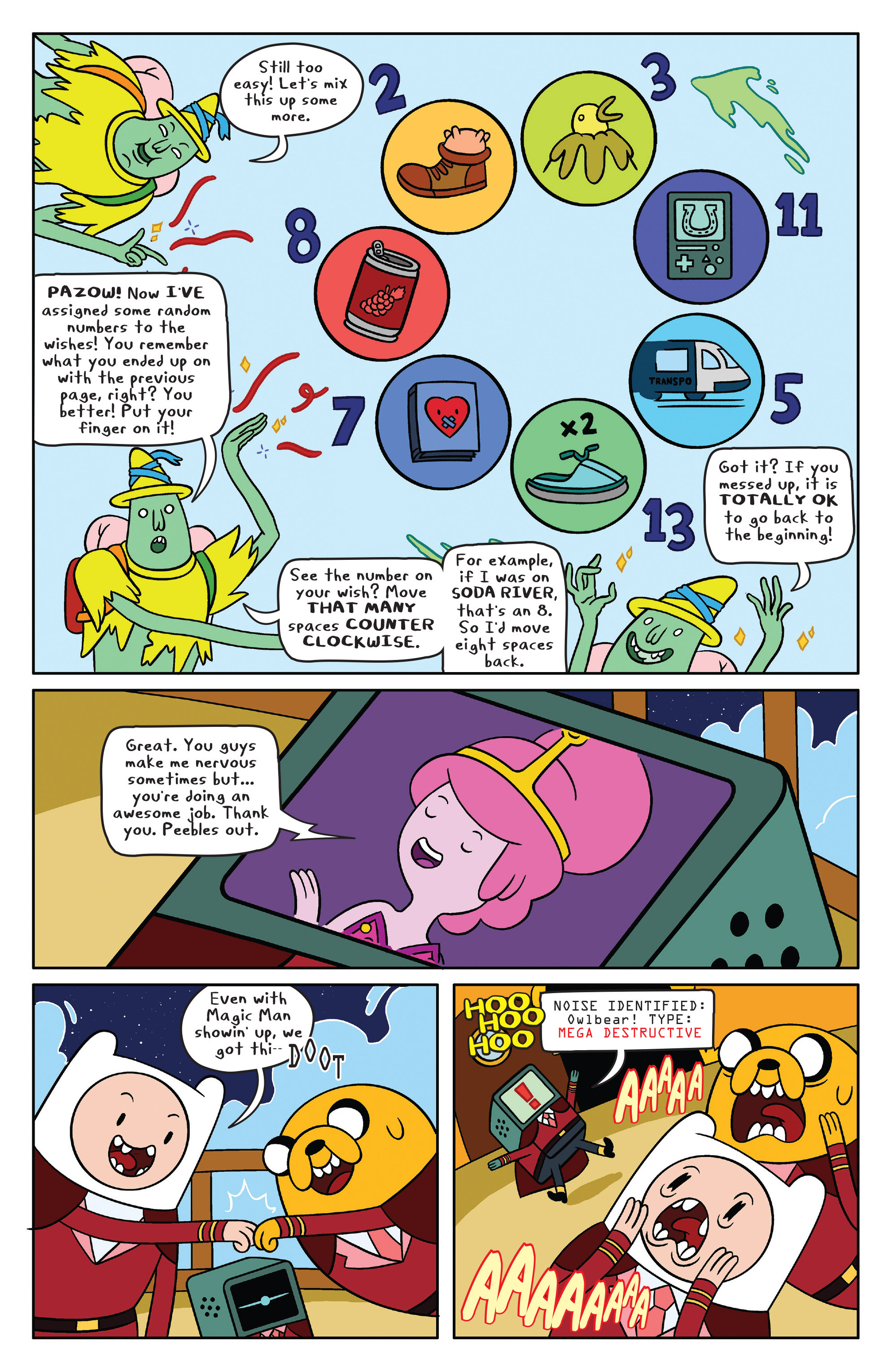 Read online Adventure Time comic -  Issue #40 - 10