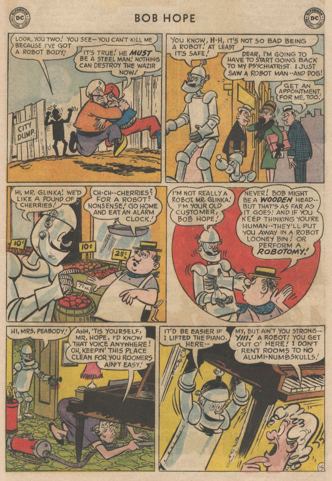 The Adventures of Bob Hope issue 90 - Page 21