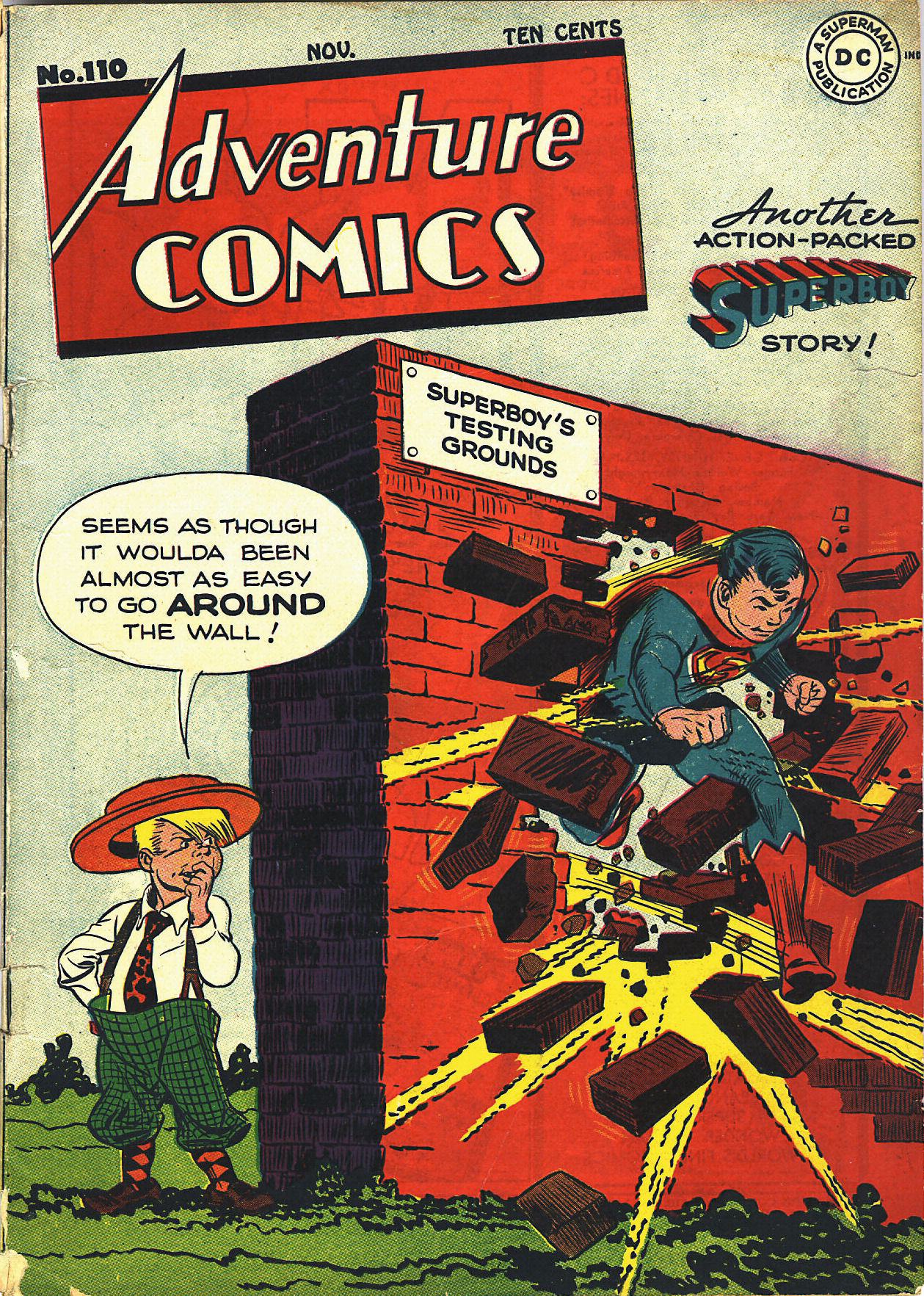 Read online Adventure Comics (1938) comic -  Issue #110 - 2