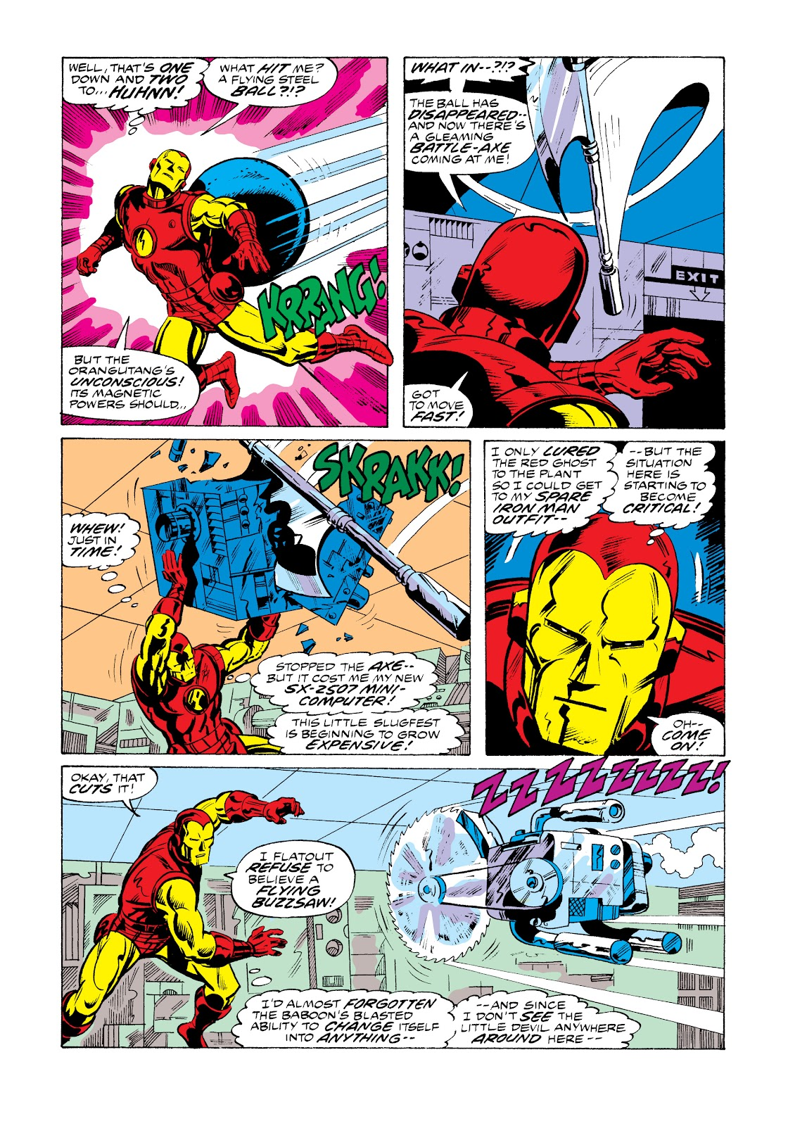 Read online Marvel Masterworks: The Invincible Iron Man comic -  Issue # TPB 11 (Part 1) - 41