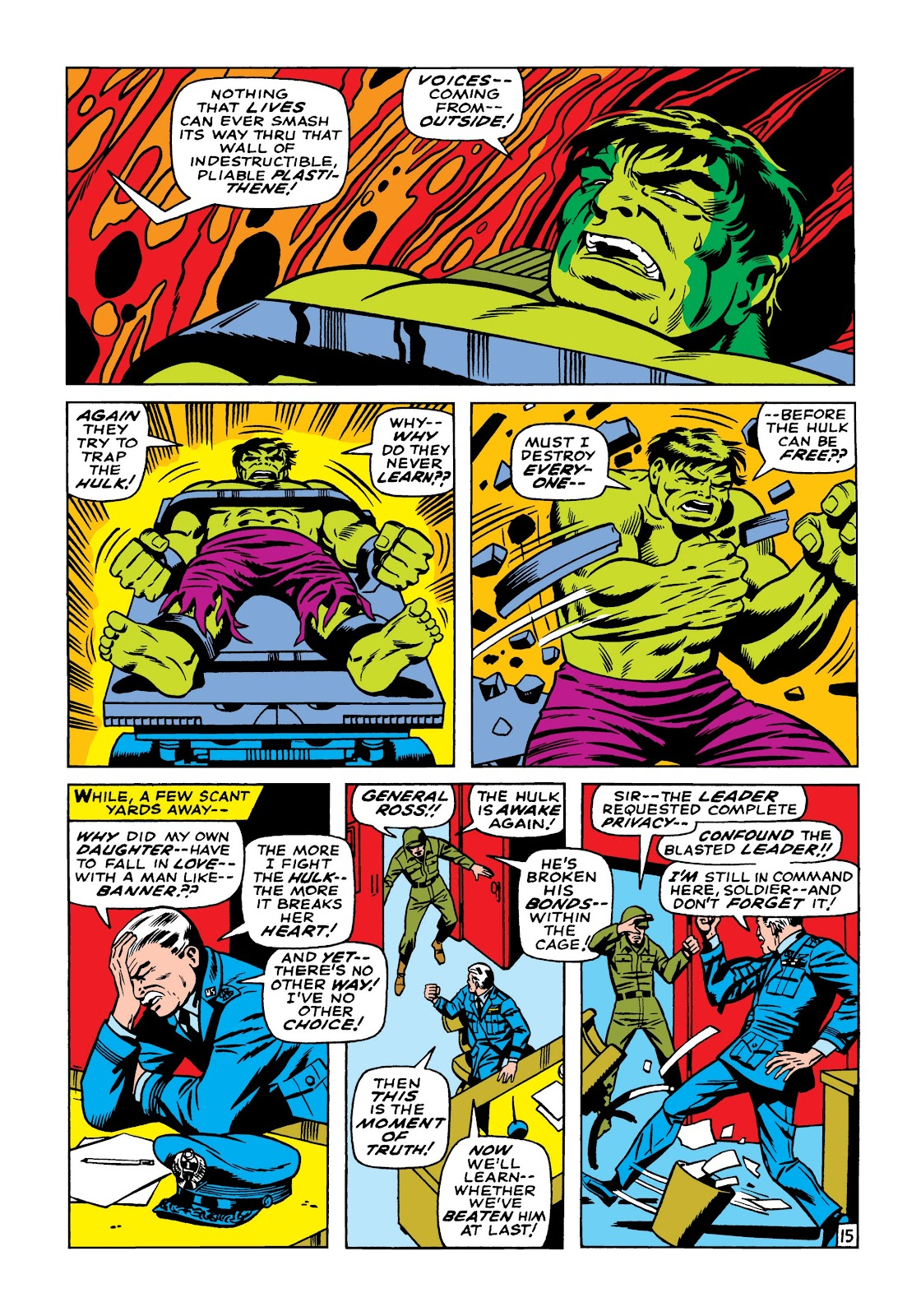 Read online Marvel Masterworks: The Incredible Hulk comic -  Issue # TPB 5 (Part 2) - 5