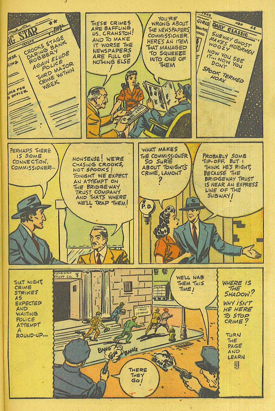 Read online Shadow Comics comic -  Issue #71 - 40