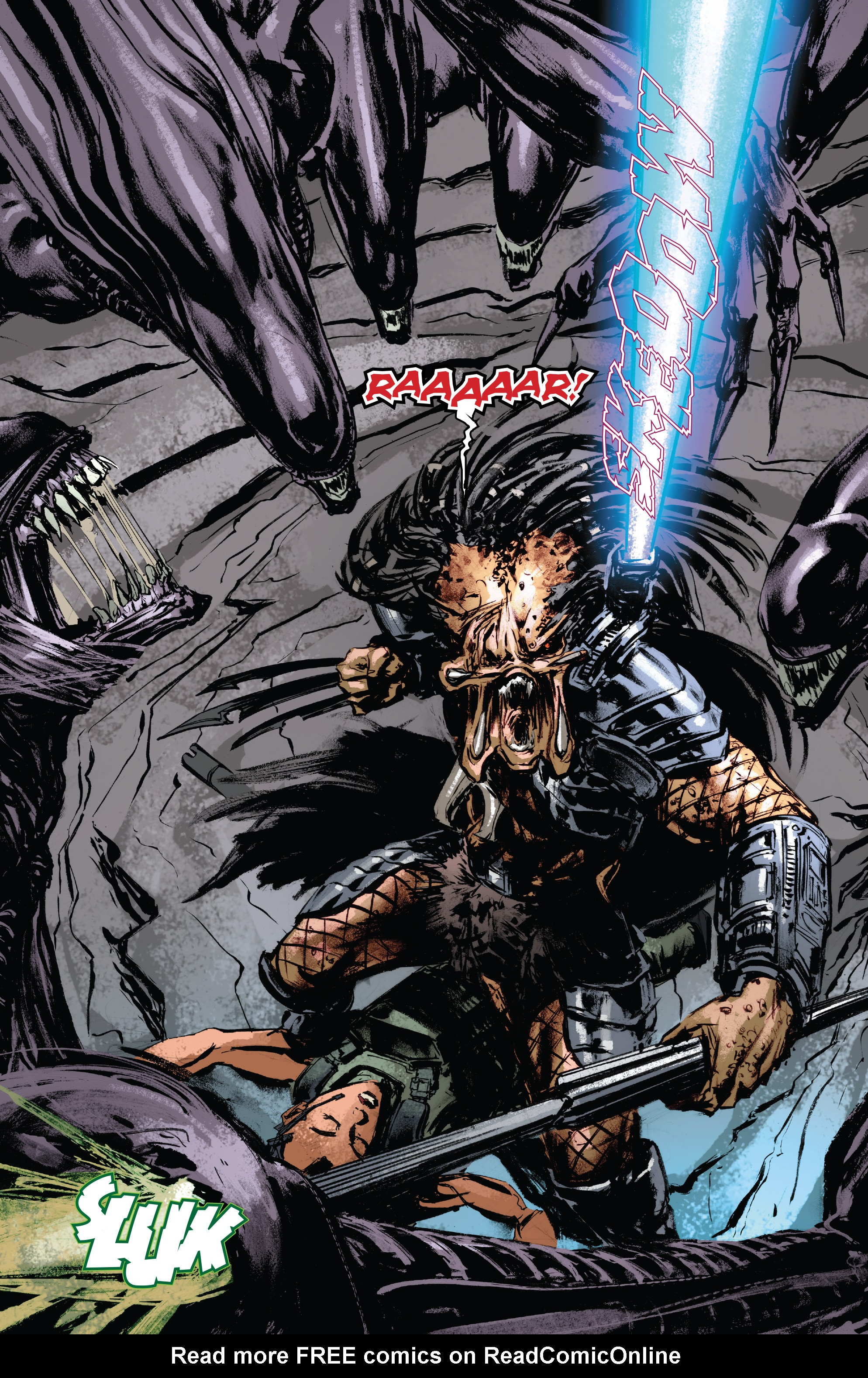 Read online Alien Vs. Predator: Life and Death comic -  Issue #1 - 22