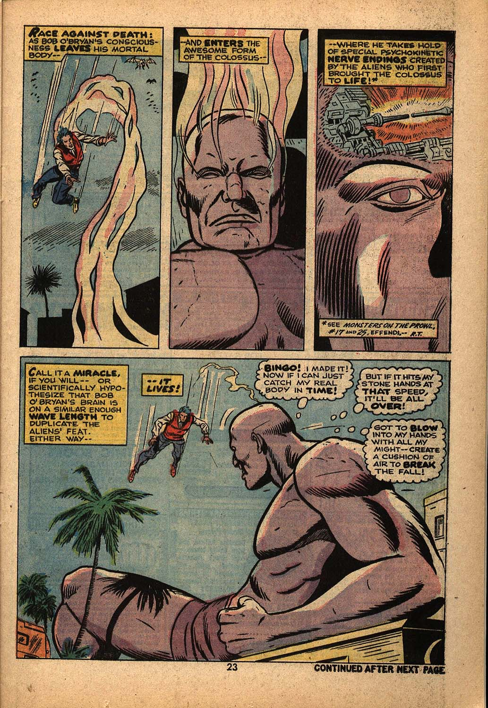 Read online Astonishing Tales (1970) comic -  Issue #22 - 15
