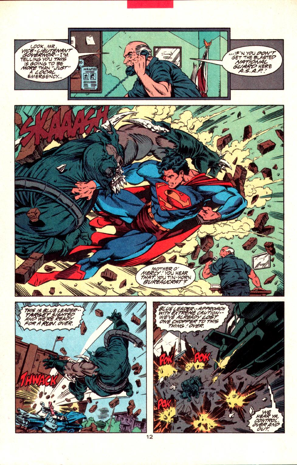 Read online Adventures of Superman (1987) comic -  Issue #497 - 14