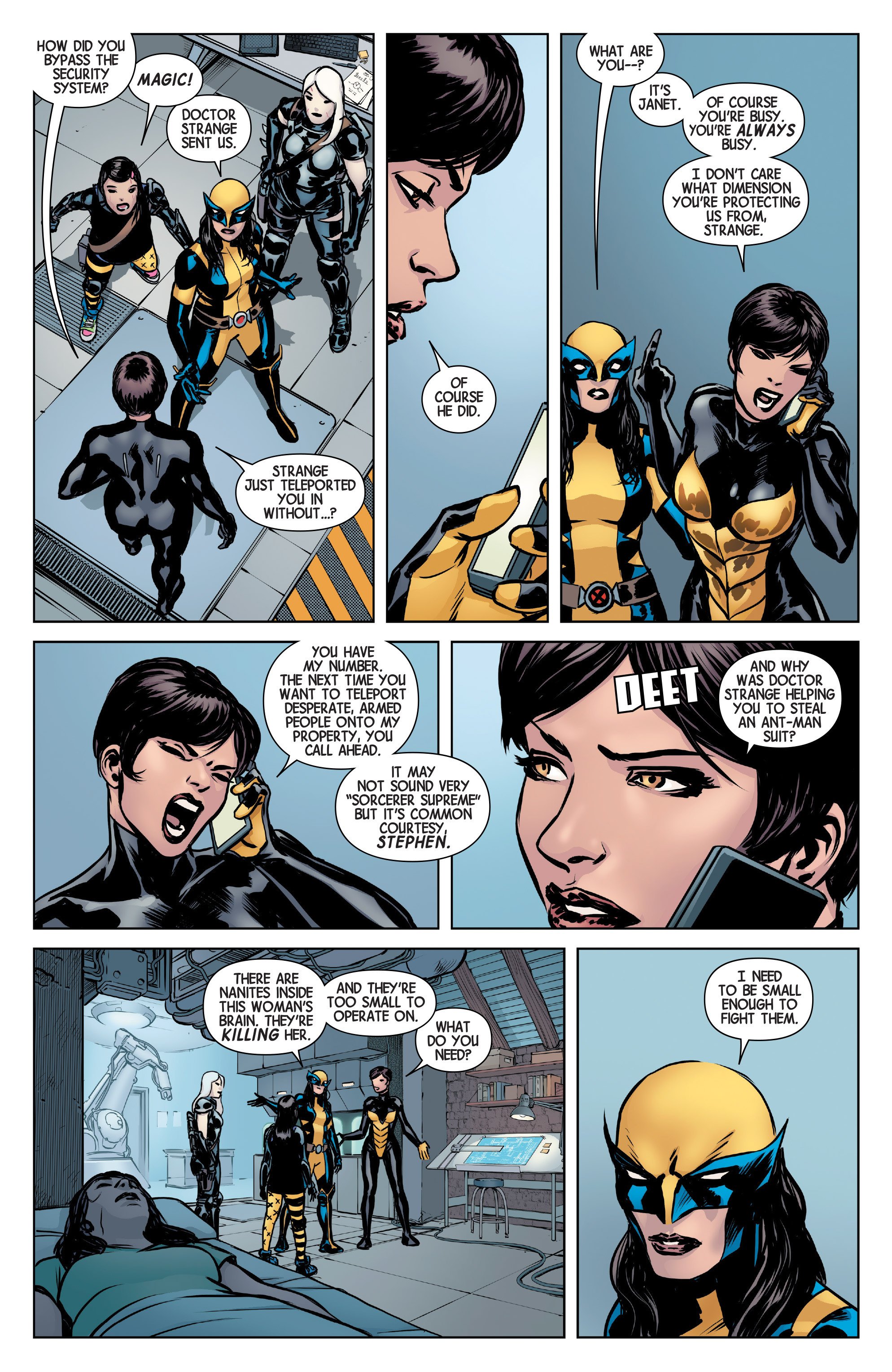 Read online All-New Wolverine (2016) comic -  Issue #5 - 5