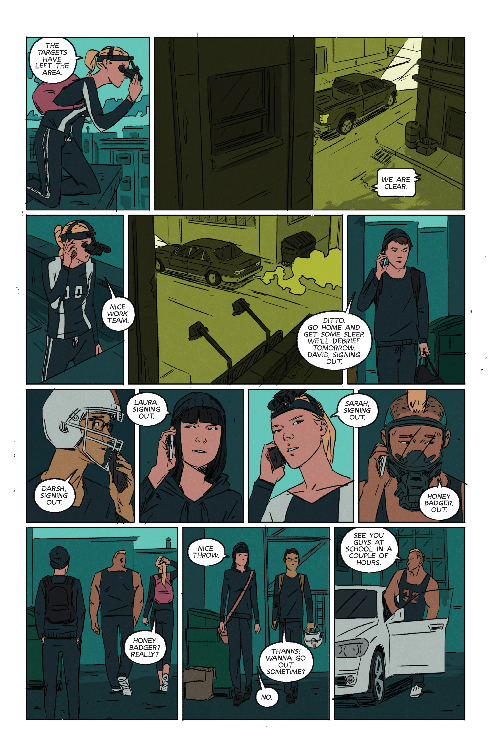 Read online Night Owl Society comic -  Issue #2 - 9