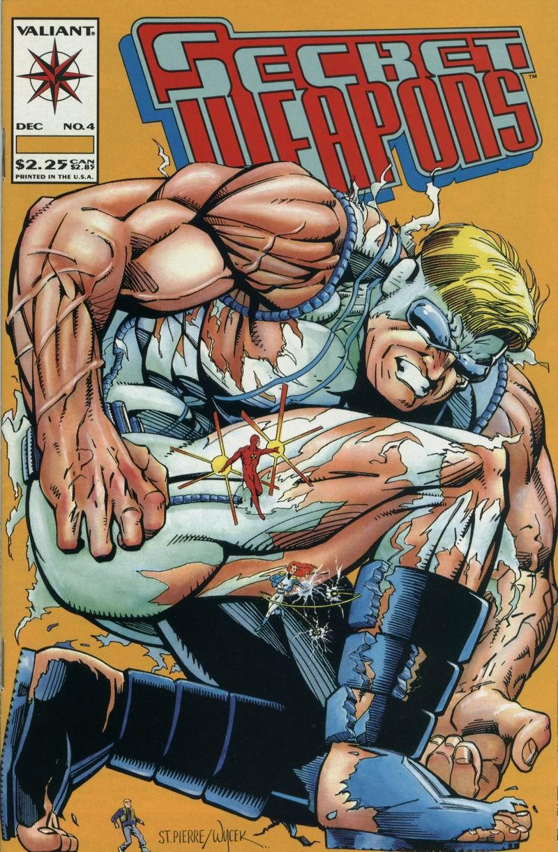 Read online Secret Weapons comic -  Issue #4 - 1