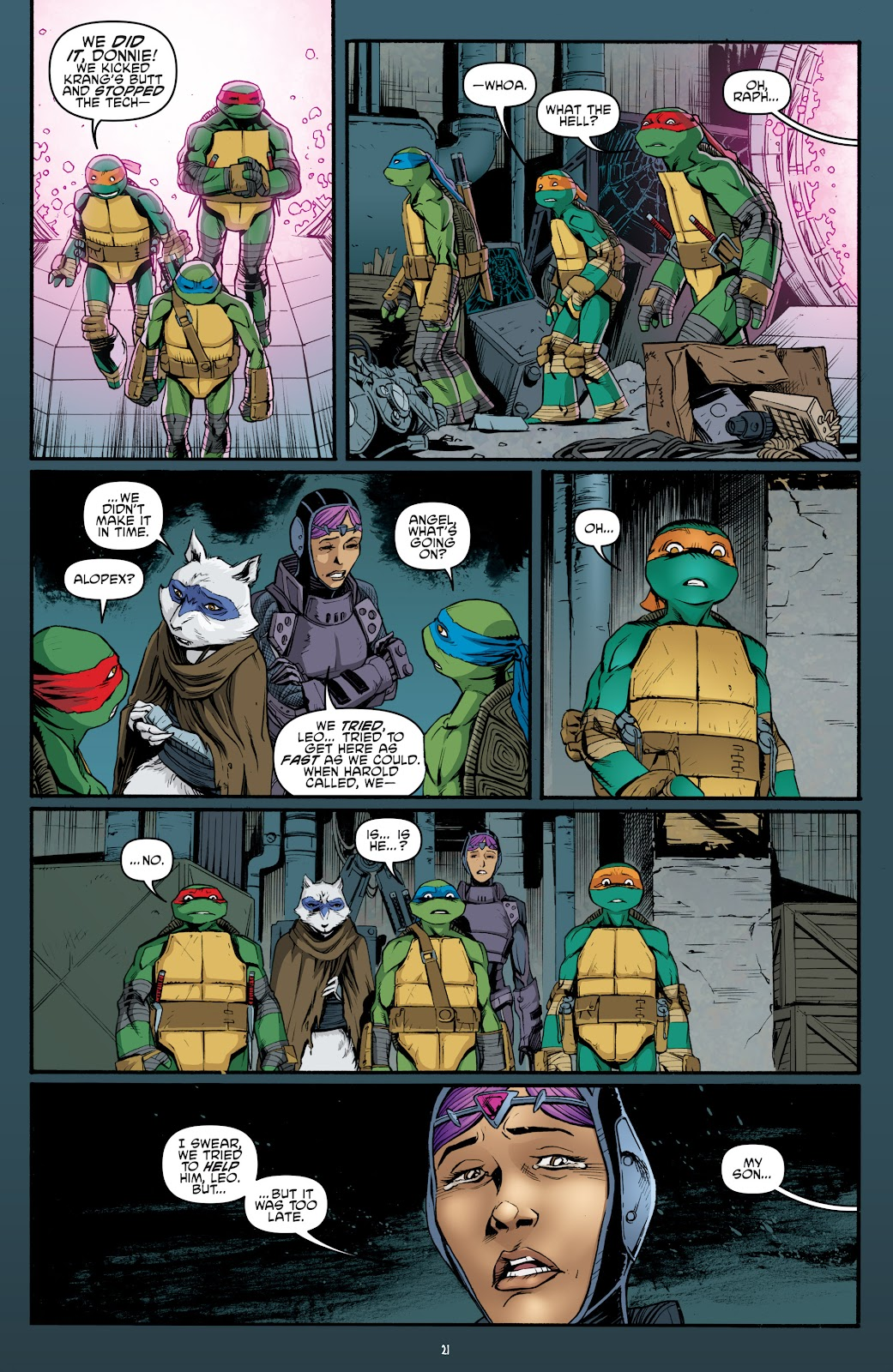 Read online Teenage Mutant Ninja Turtles: The IDW Collection comic -  Issue # TPB 5 (Part 4) - 53