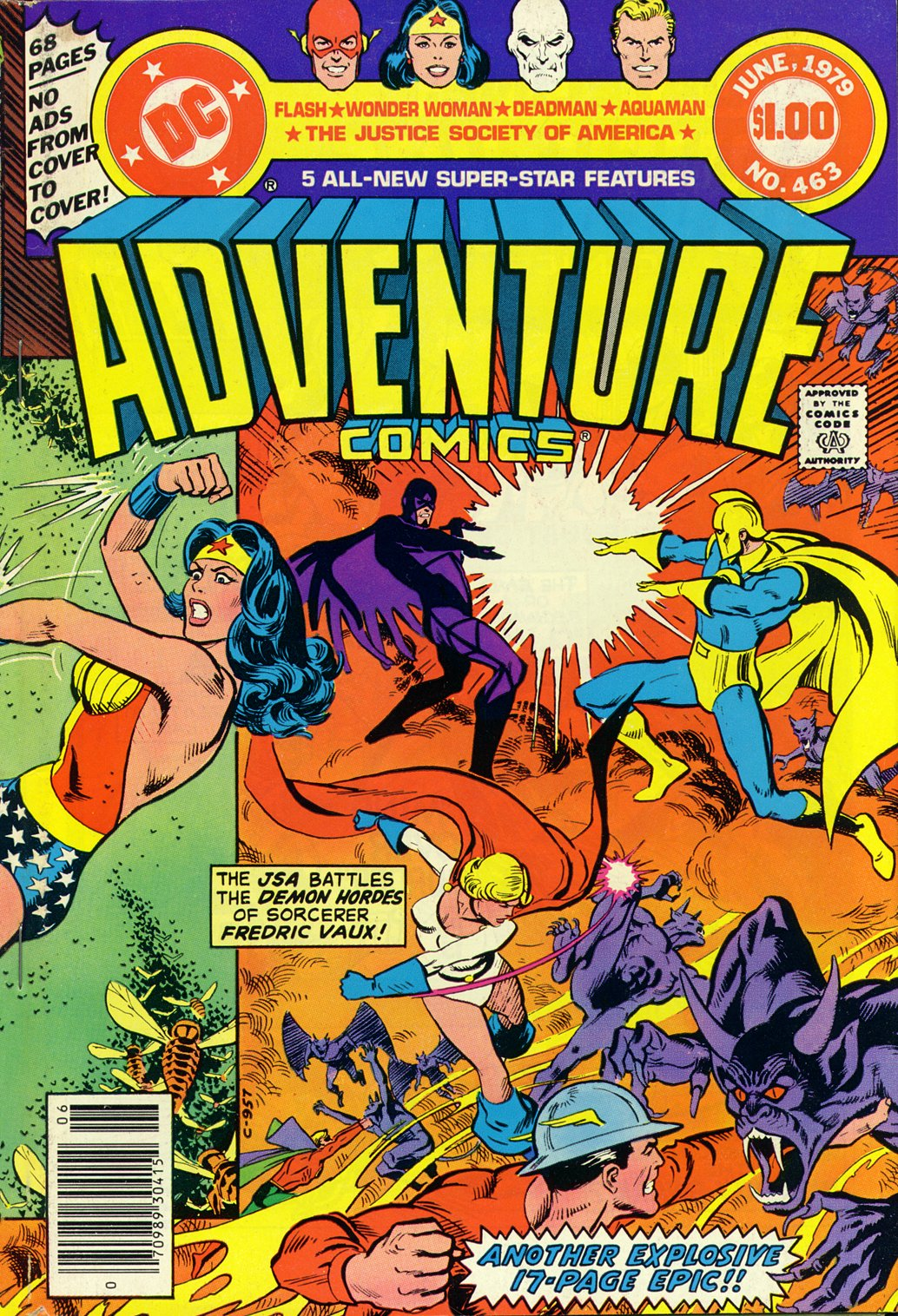 Read online Adventure Comics (1938) comic -  Issue #463 - 2