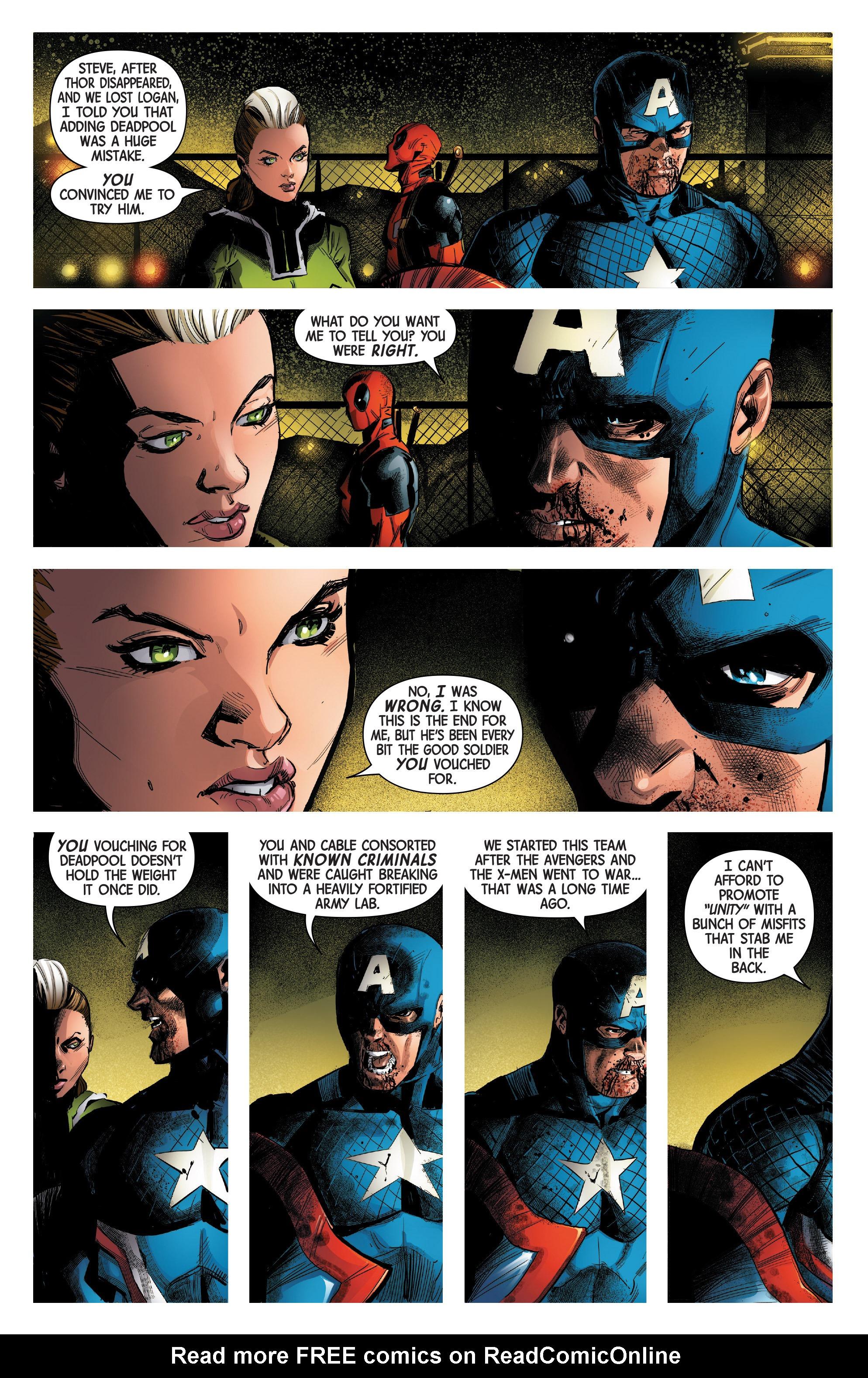 Read online Uncanny Avengers [II] comic -  Issue #14 - 17