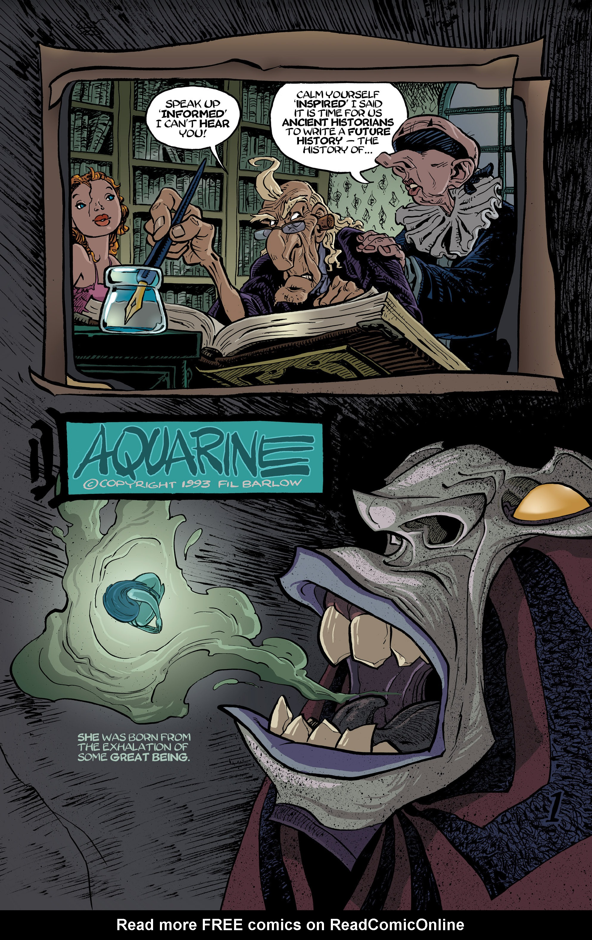 Read online 8House comic -  Issue #5 - 23