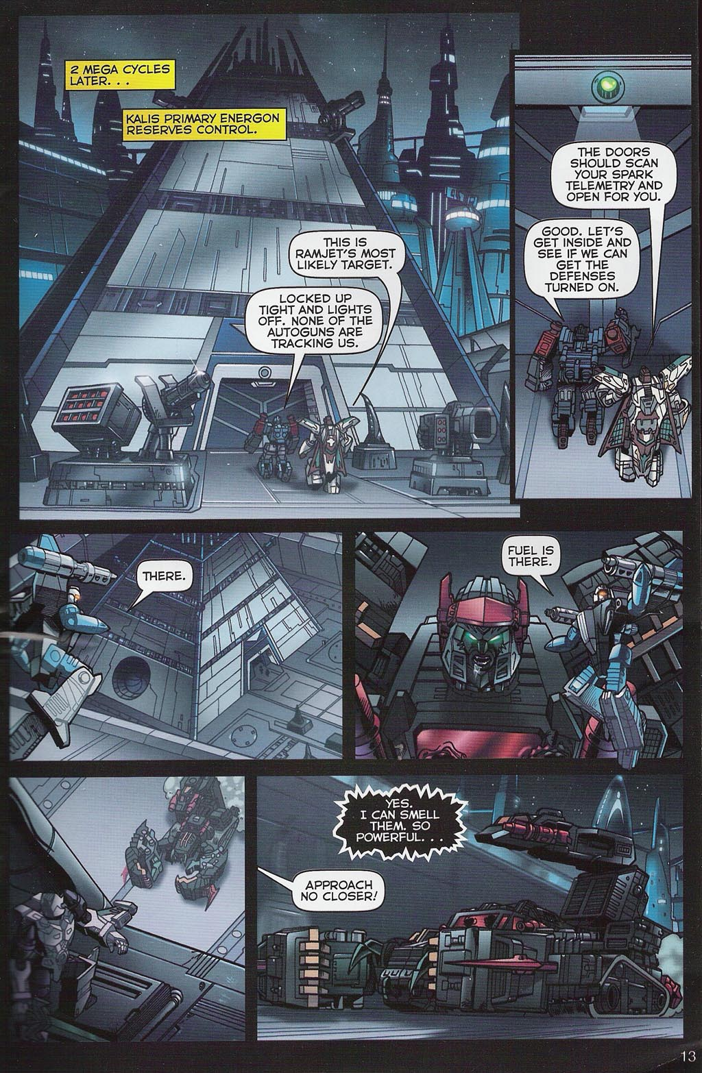 Read online Transformers: Collectors' Club comic -  Issue #4 - 13