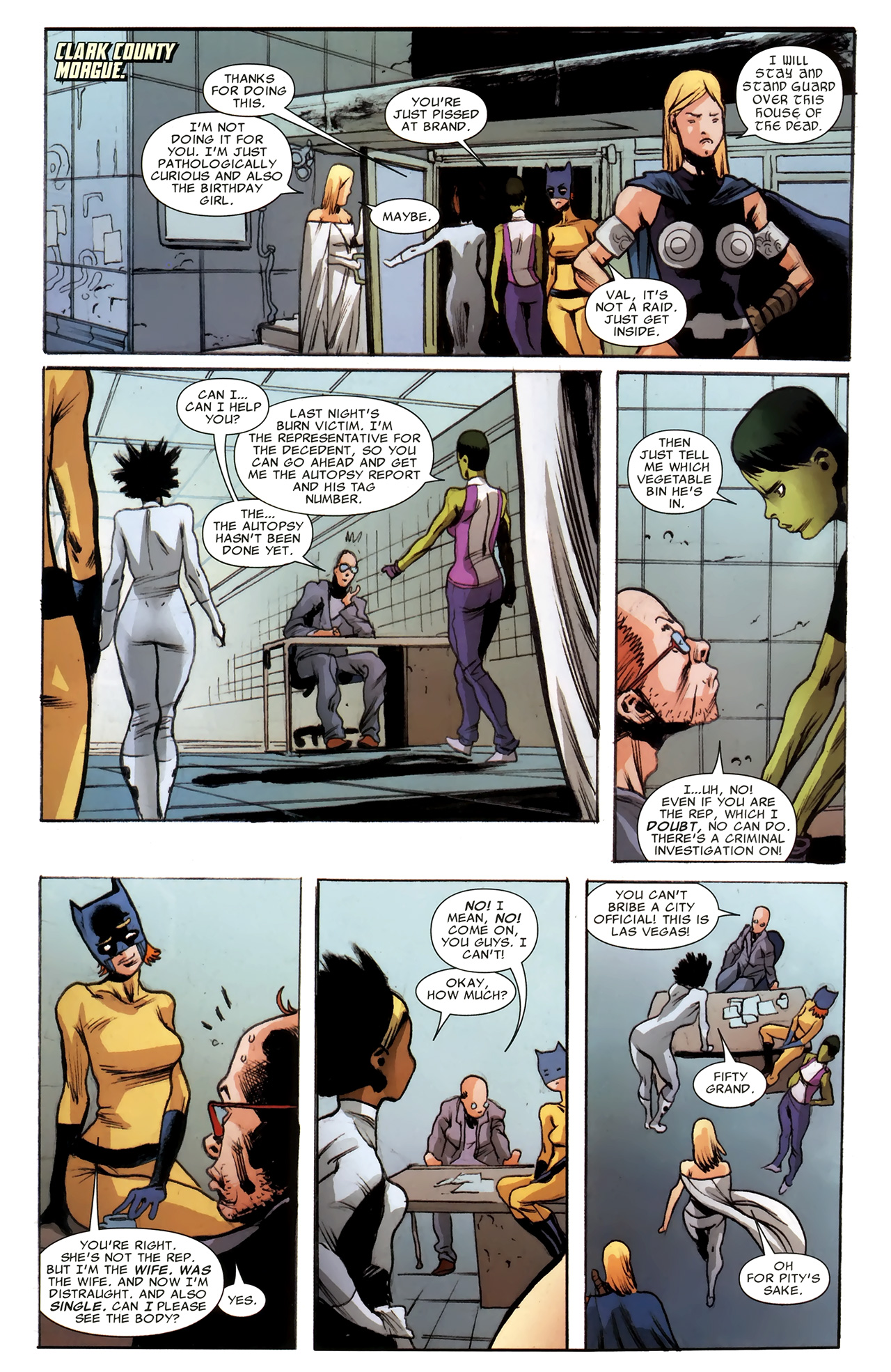 Read online Heralds comic -  Issue #2 - 16