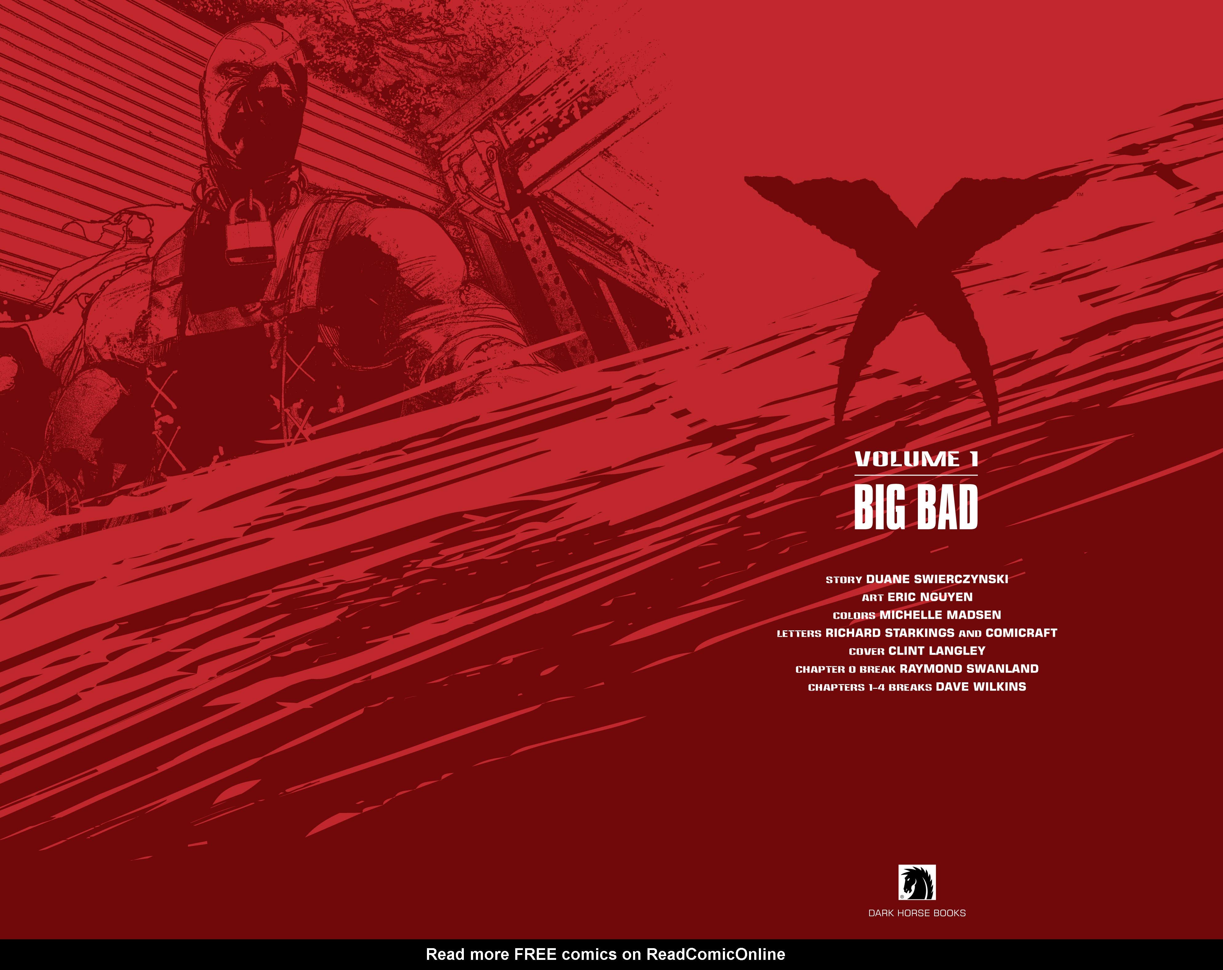 Read online X: Big Bad comic -  Issue # Full - 4