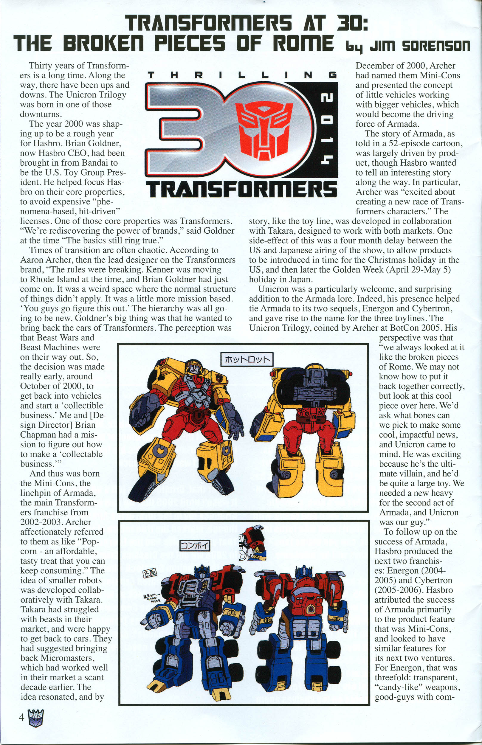 Read online Transformers: Collectors' Club comic -  Issue #57 - 4
