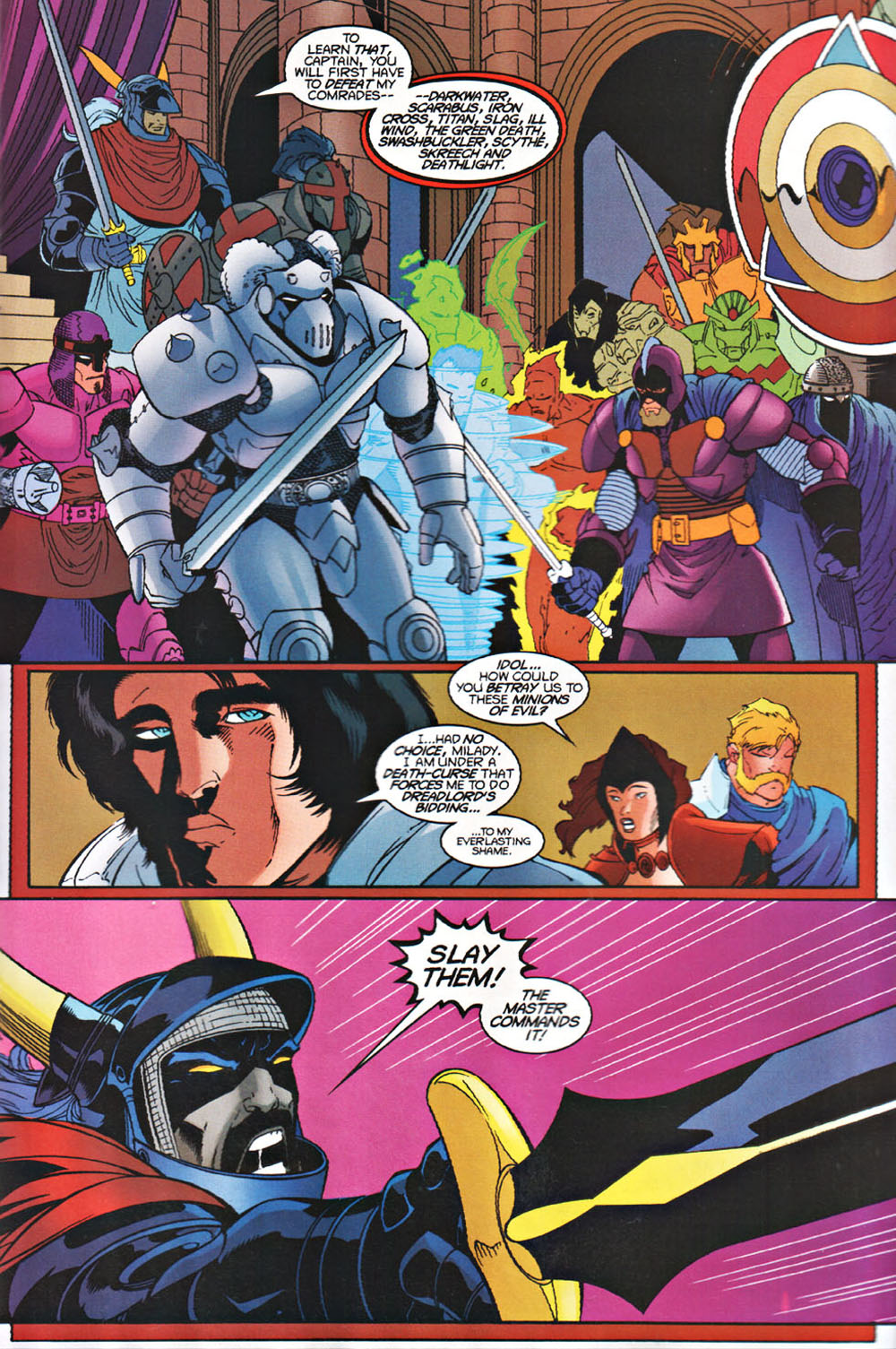 Read online Avataars: Covenant of the Shield comic -  Issue #3 - 11