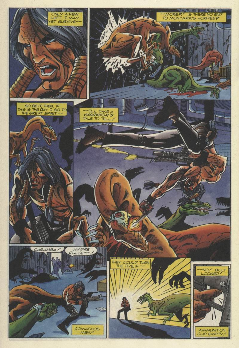 Read online Turok, Dinosaur Hunter (1993) comic -  Issue #2 - 16
