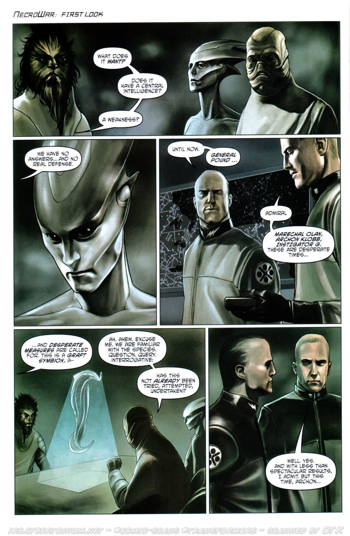 Read online Transformers Armada comic -  Issue #12 - 28