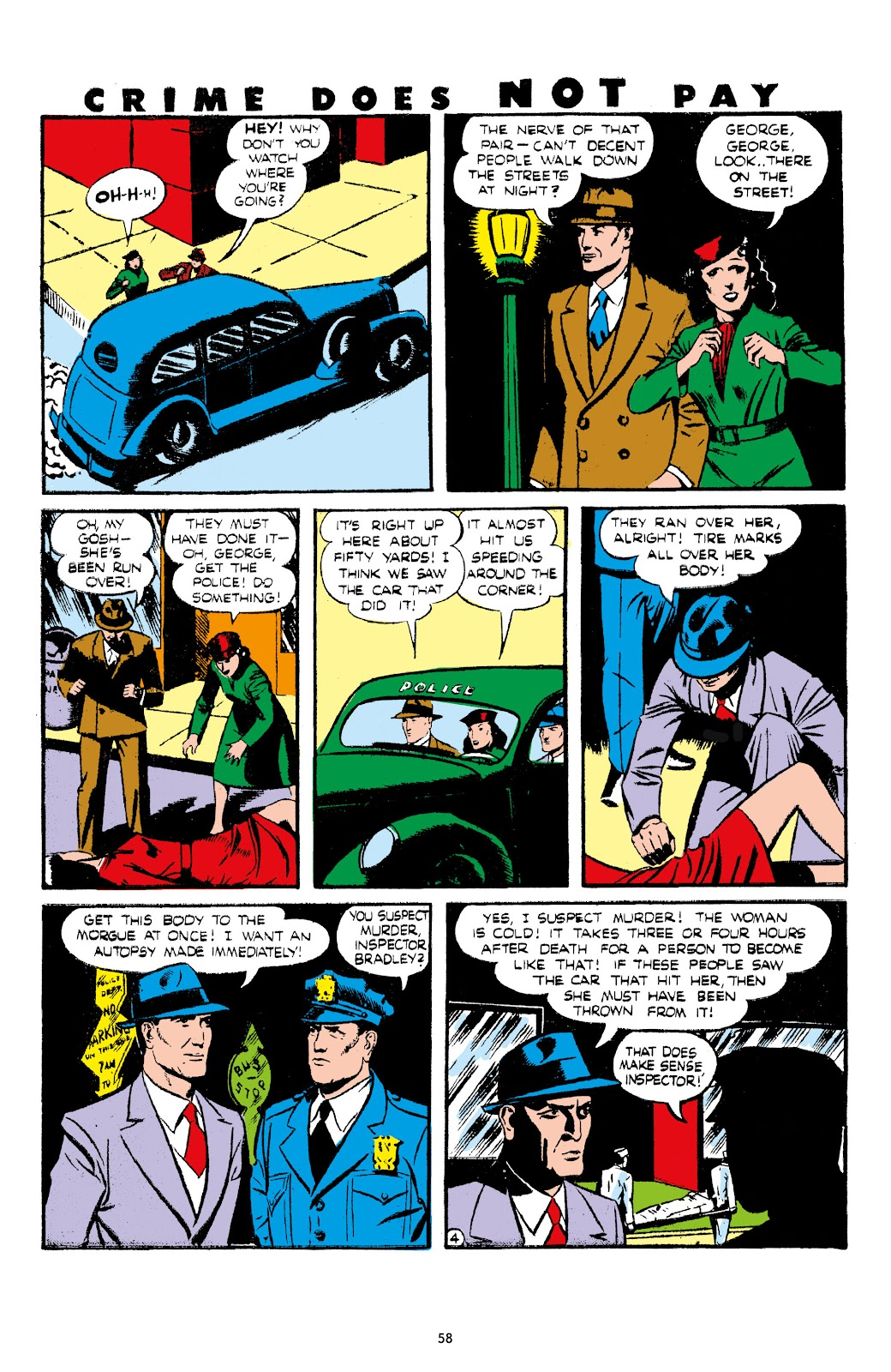 Read online Crime Does Not Pay Archives comic -  Issue # TPB 7 (Part 1) - 60