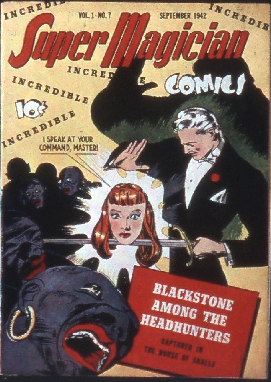 Read online Super-Magician Comics comic -  Issue #7 - 1