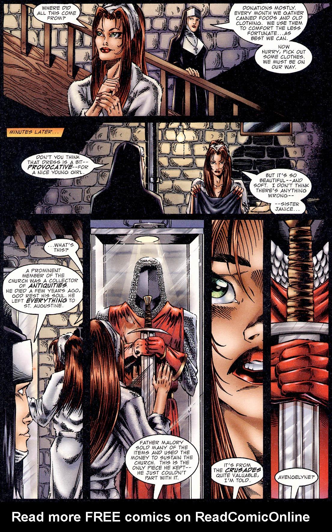 Read online Avengelyne (1995) comic -  Issue #2 - 6