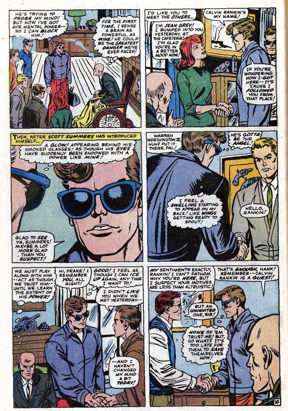 Read online Uncanny X-Men (1963) comic -  Issue #69 - 36