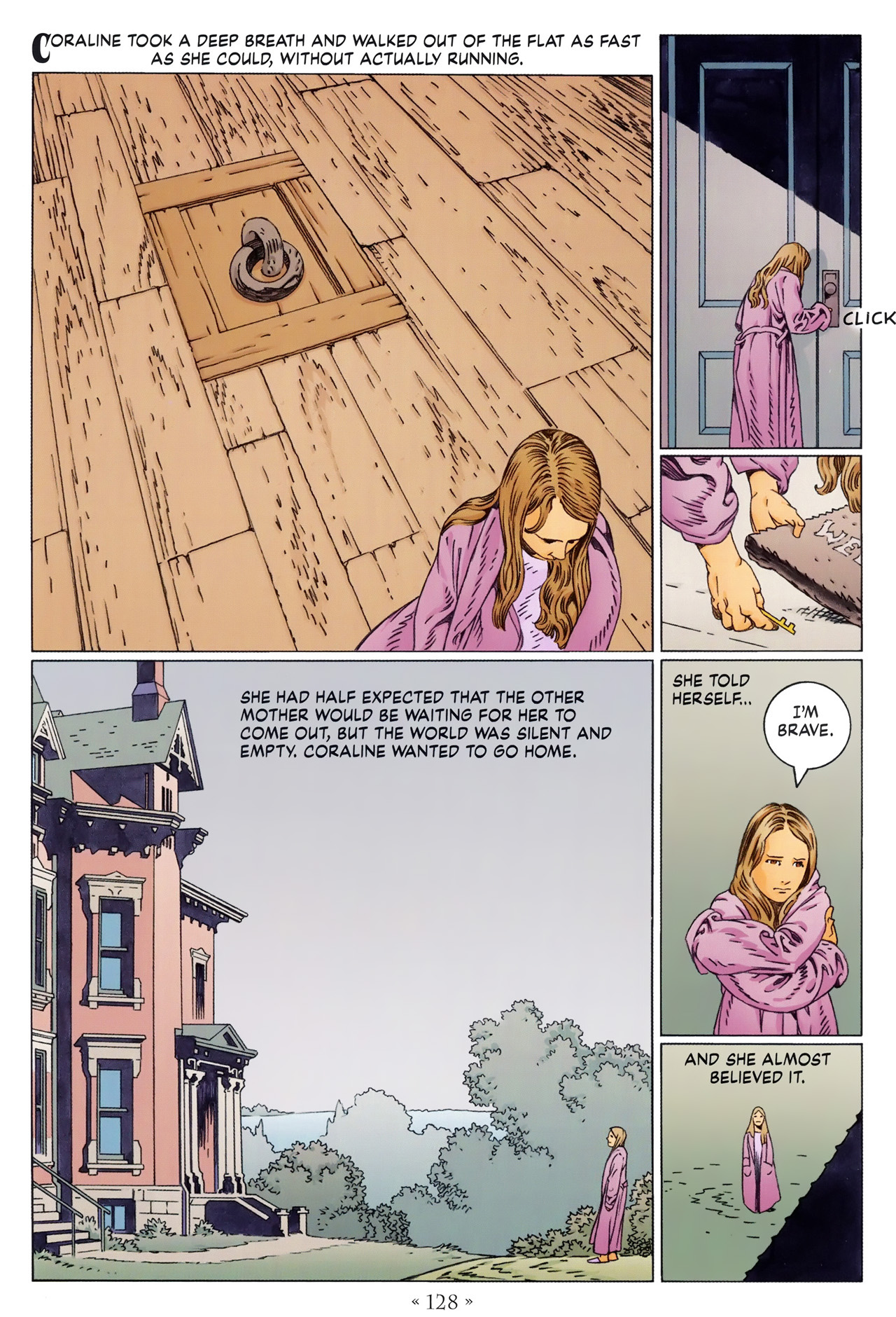 Read online Coraline comic -  Issue #1 - 134