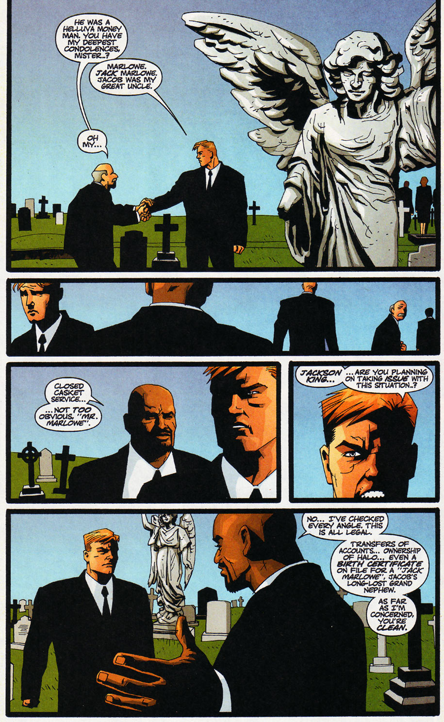 Wildcats (1999) Issue #12 #13 - English 6