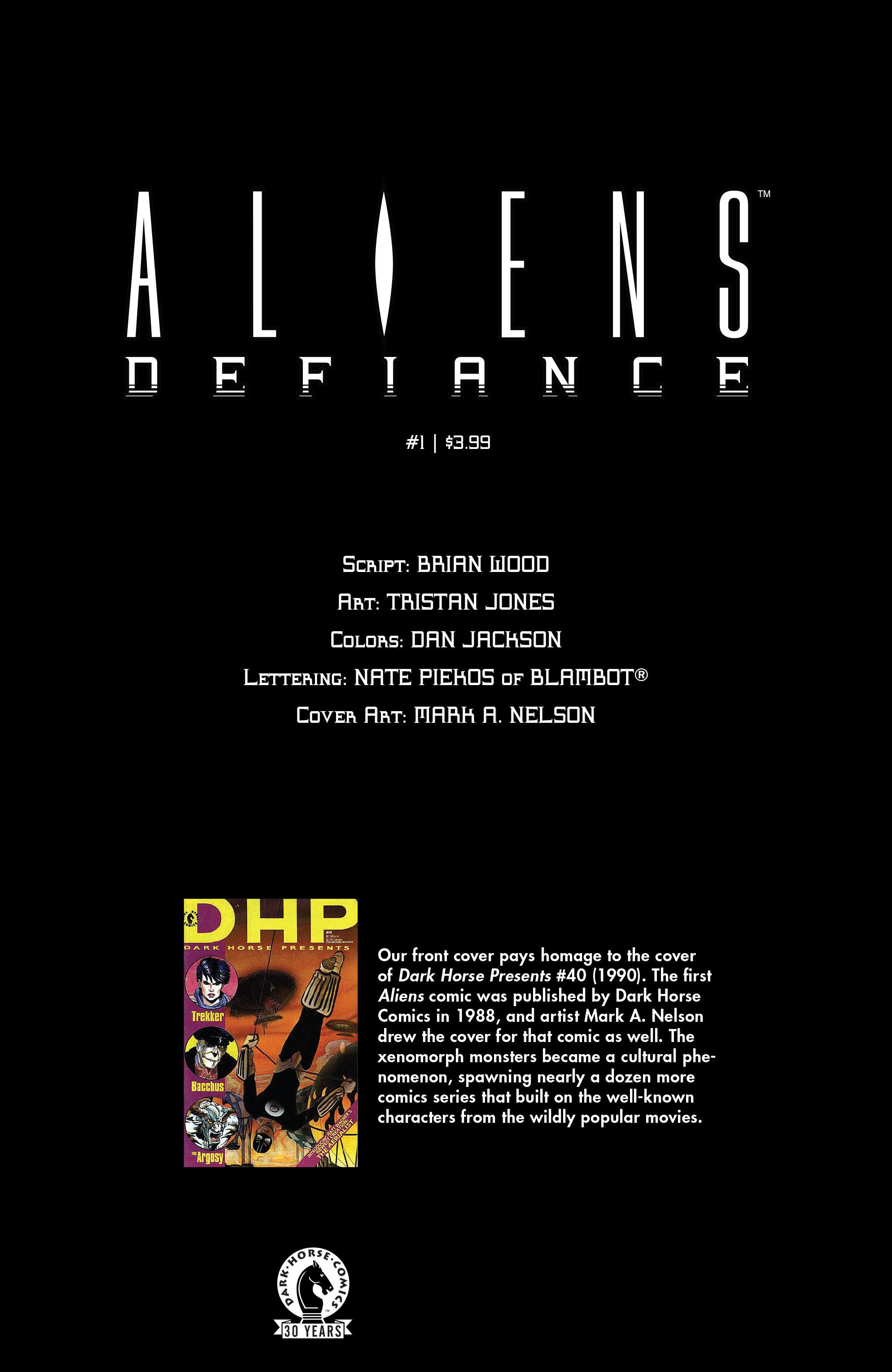 Read online Aliens: Defiance comic -  Issue #1 - 31