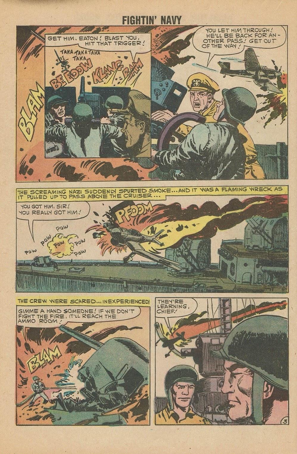 Read online Fightin' Navy comic -  Issue #95 - 28