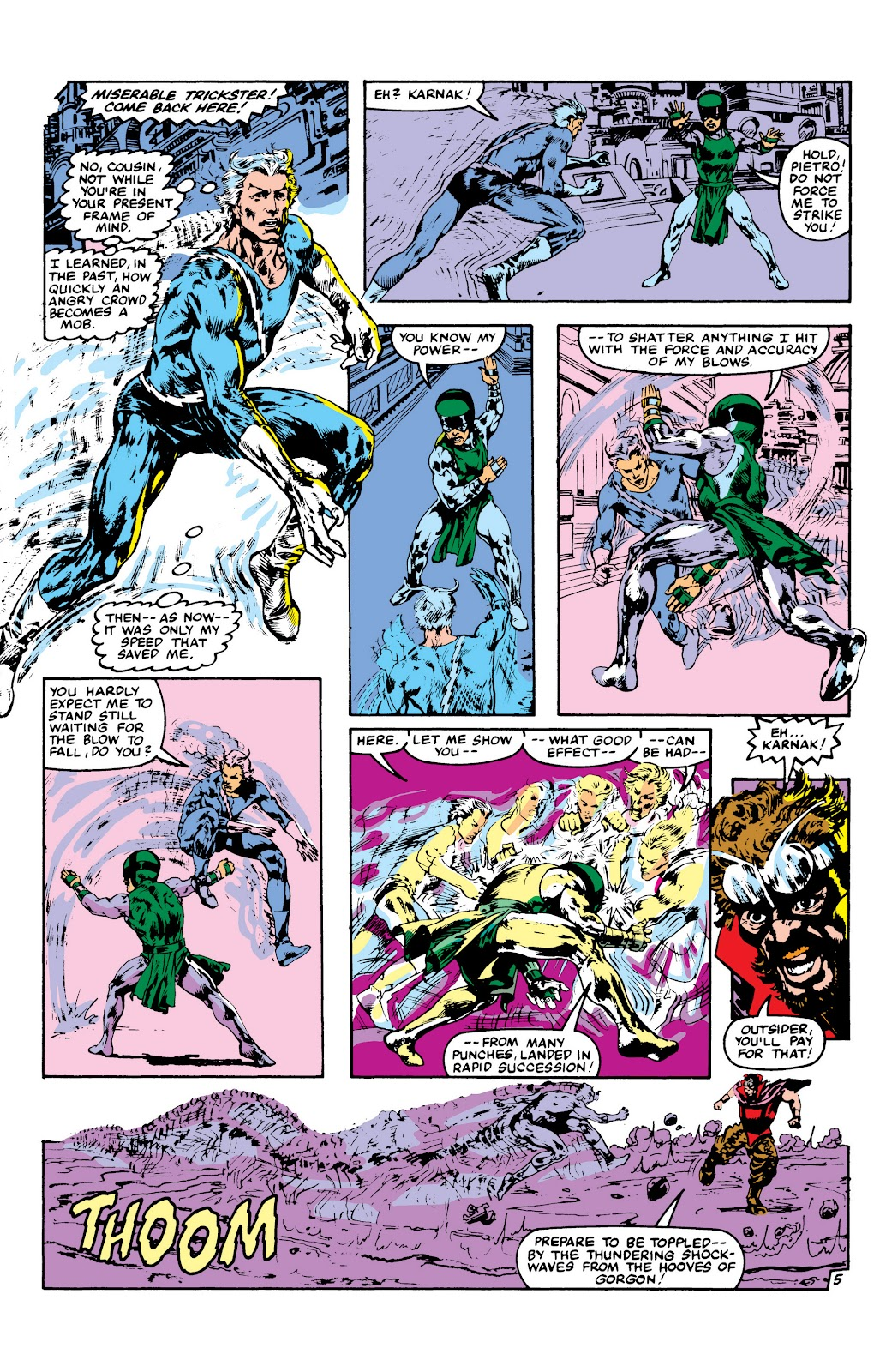 Read online Marvel Masterworks: The Inhumans comic -  Issue # TPB 2 (Part 3) - 108
