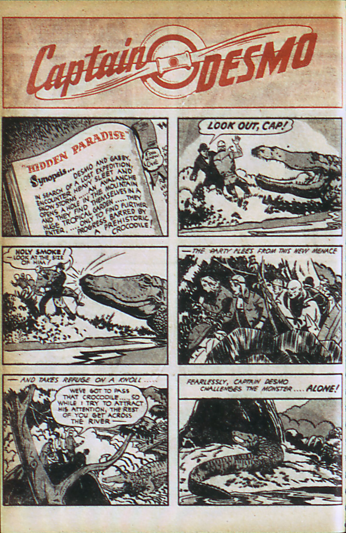 Read online Adventure Comics (1938) comic -  Issue #37 - 37