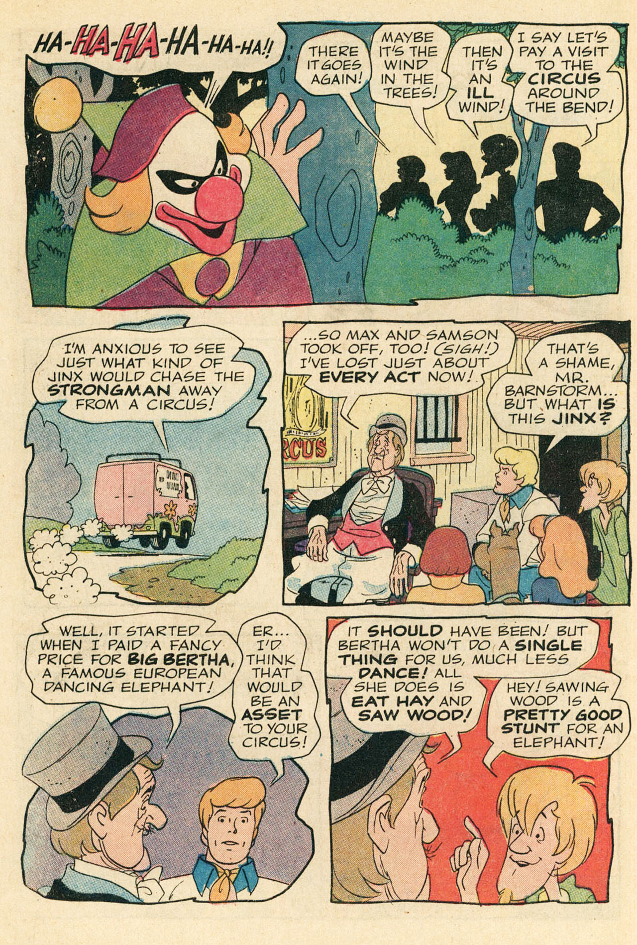 Read online Scooby-Doo... Where Are You! (1970) comic -  Issue #9 - 7