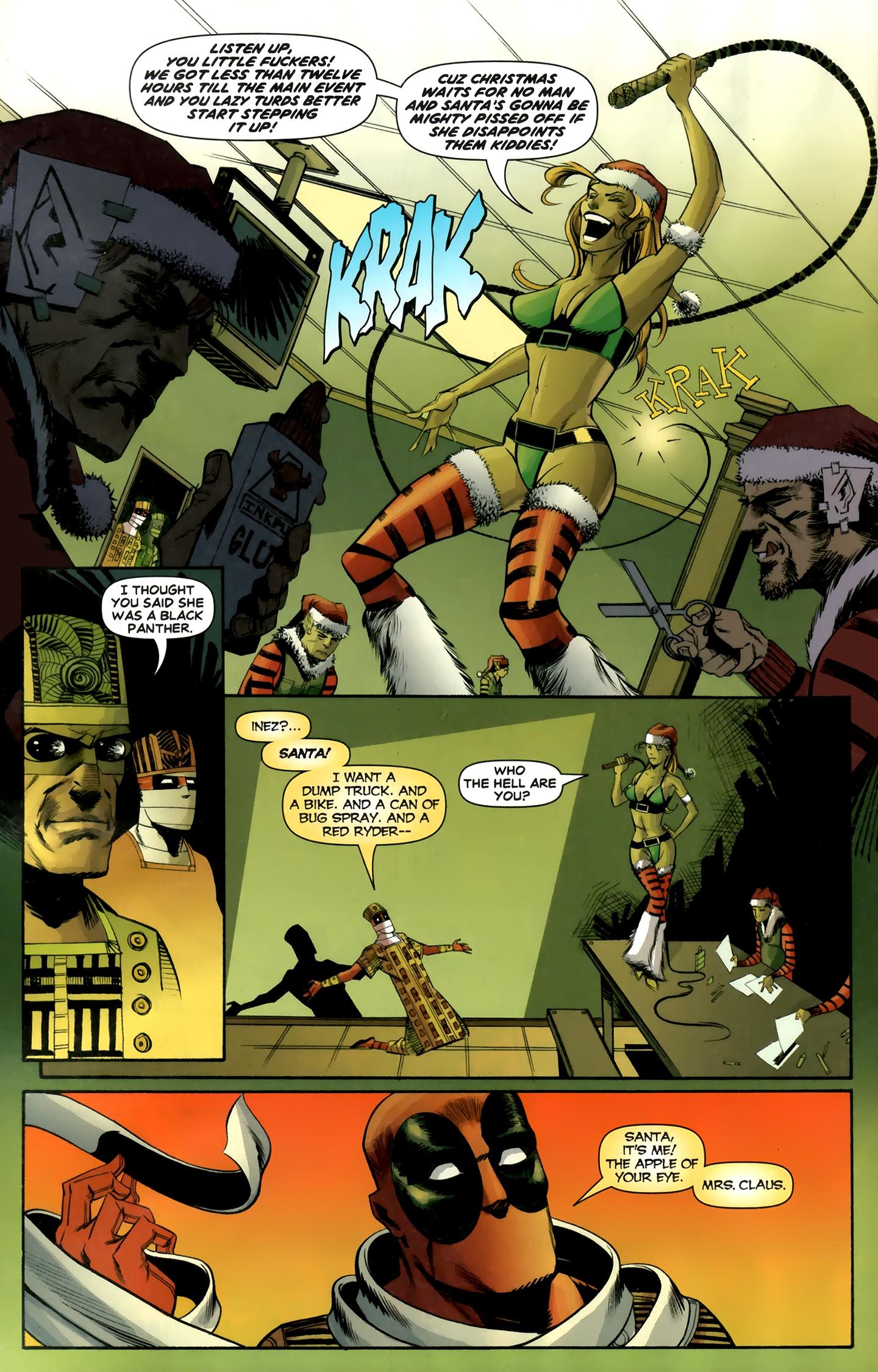 Read online Deadpool MAX X-Mas Special comic -  Issue # Full - 26