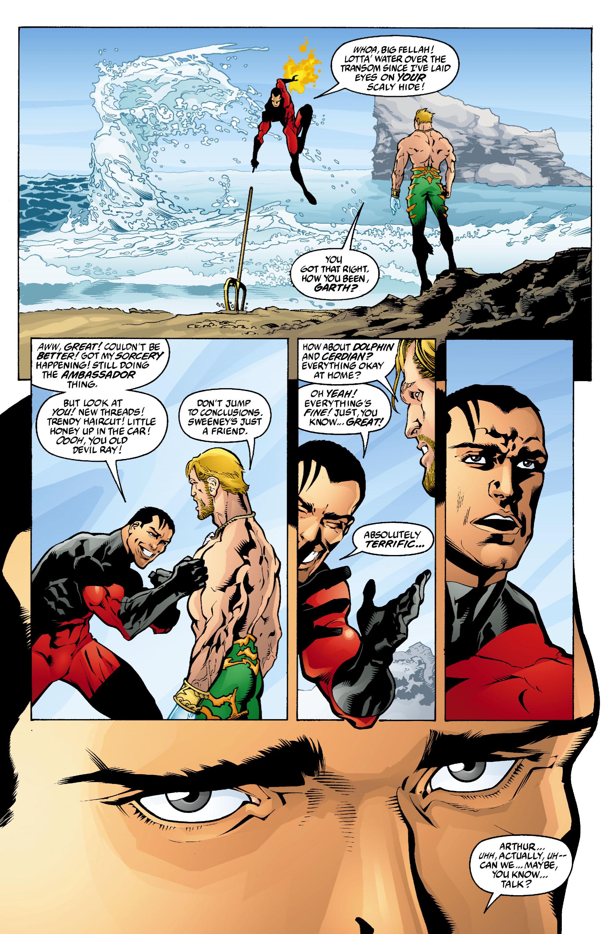 Read online Aquaman (2003) comic -  Issue #4 - 5