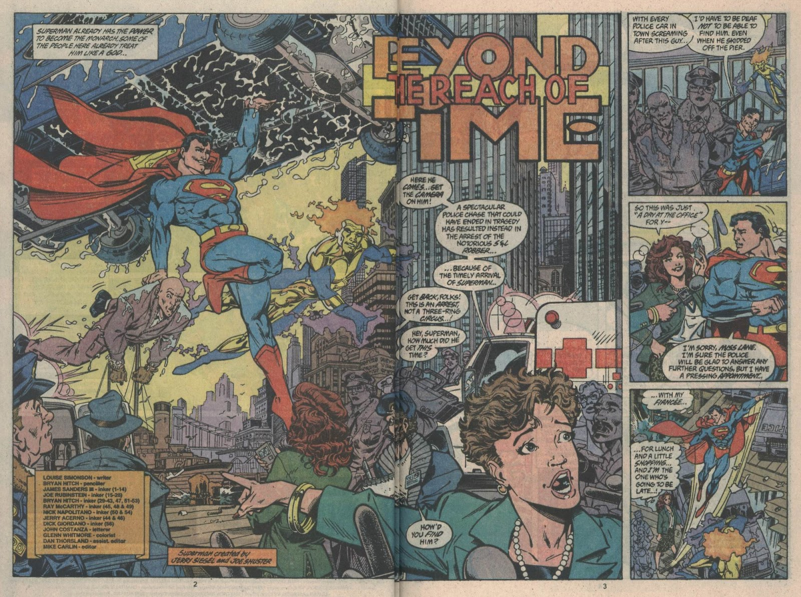 Adventures of Superman (1987) issue _Annual_3 - Page 3