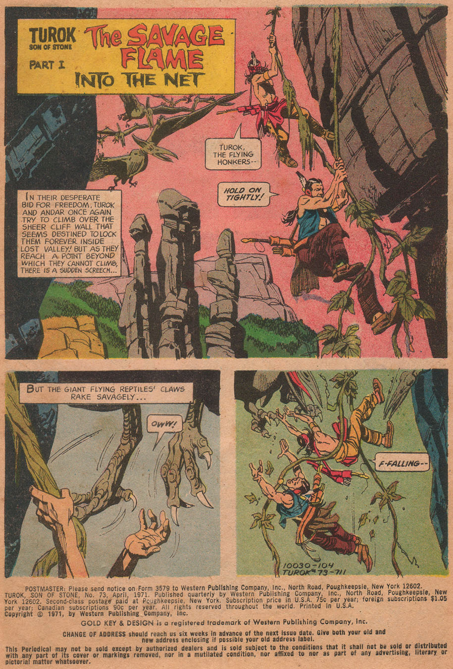 Read online Turok, Son of Stone comic -  Issue #73 - 3