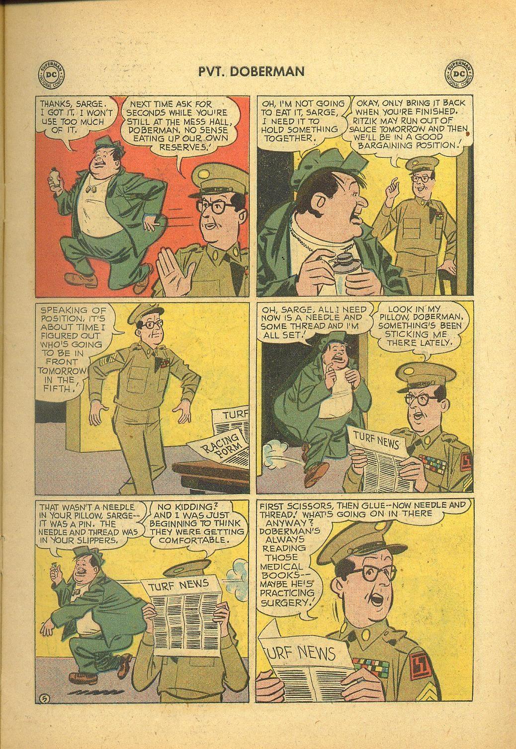 Sgt. Bilko's Pvt. Doberman issue 1 - Page 7