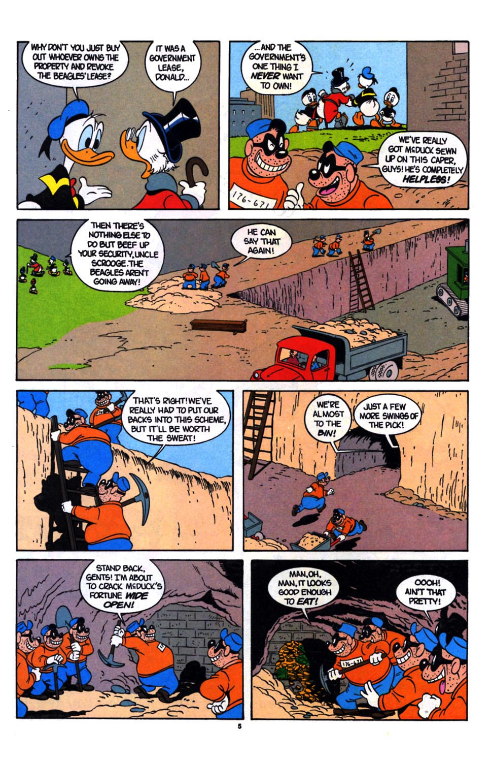Read online Uncle Scrooge (1953) comic -  Issue #254 - 6