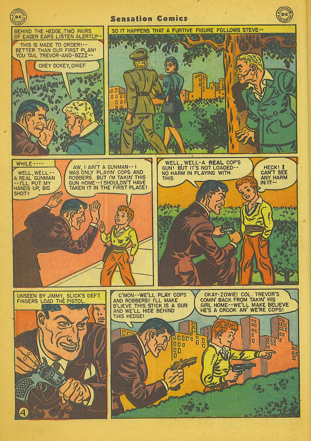 Read online Sensation (Mystery) Comics comic -  Issue #66 - 6
