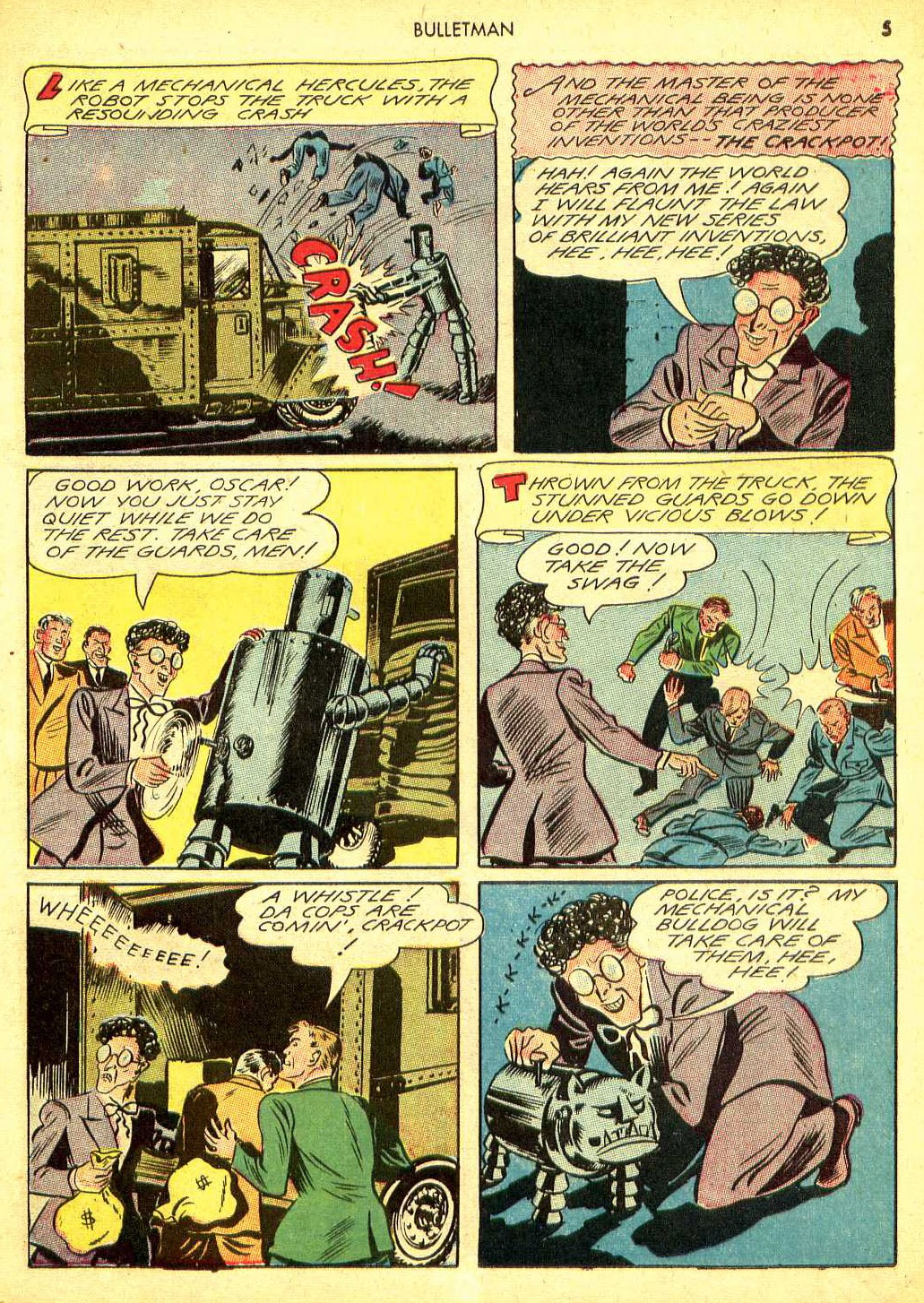 Bulletman issue 12 - Page 4