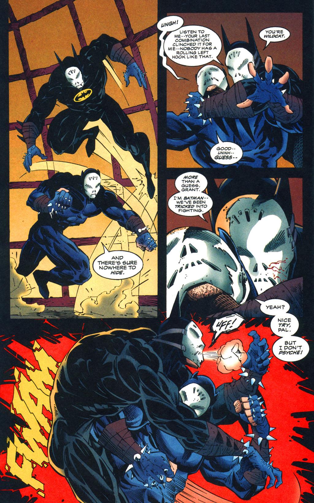 Read online Batman/Wildcat comic -  Issue #3 - 5